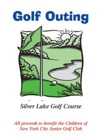 Golf Outing Brochure